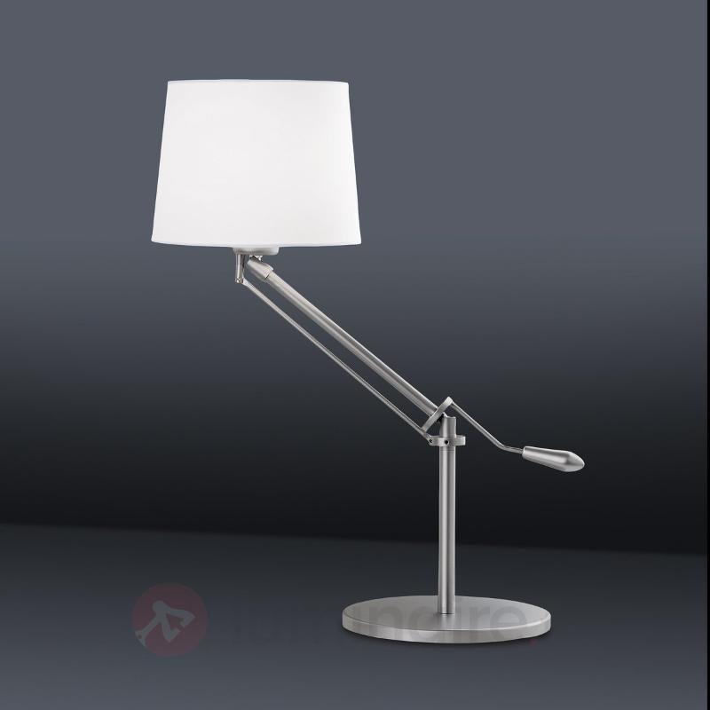 Élégante lampe à poser MILAN - Lampes à poser en tissu