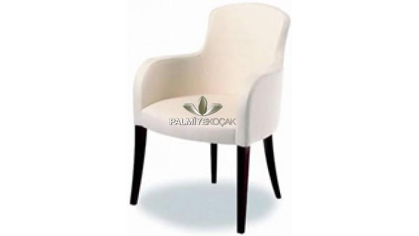 Ahşap modern kollu sandalye
