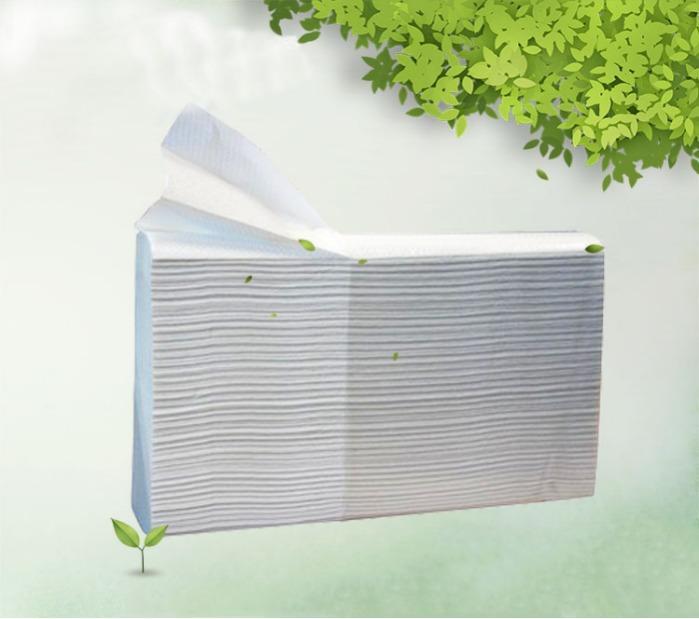 Полотенце бумажное - Полотенце бумажное листовое Z-сложение