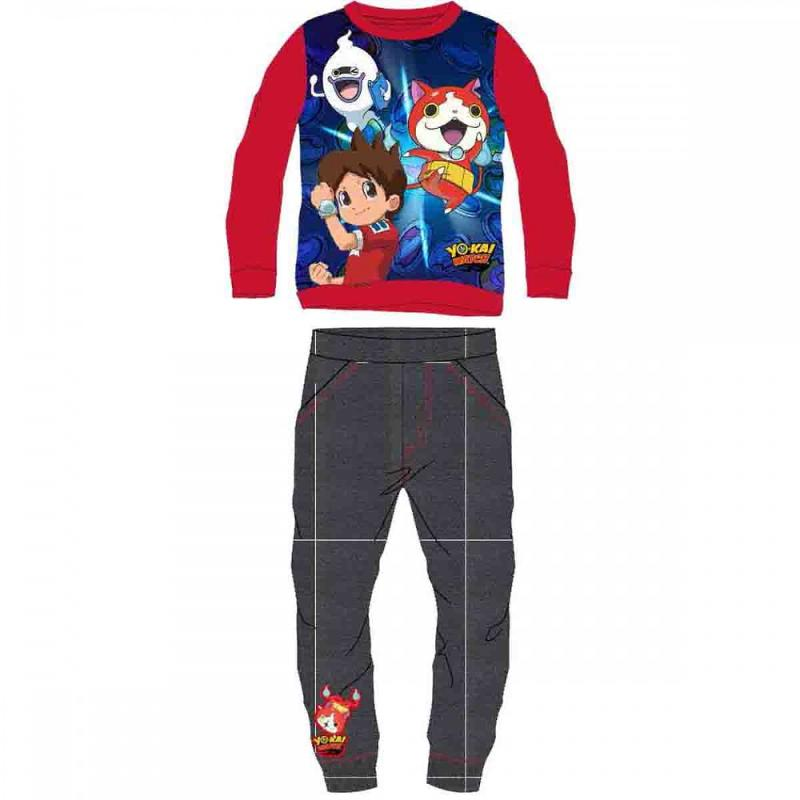 12x Joggings molleton Yo-kai Watch du 2 au 8 ans - Jogging et Survêtement