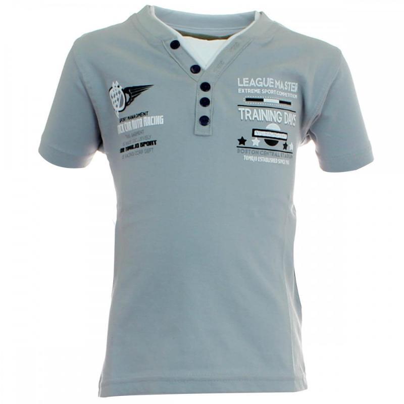 12x T-shirts manches courtes Tom Jo du 2 au 5 ans - T-shirt et polo manches courtes