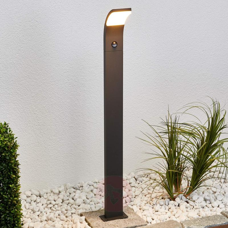LED path light Timm with motion detector, 100 cm - outdoor-led-lights