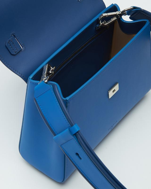 Min-trapezium Bag Blue - POWERWOMAN