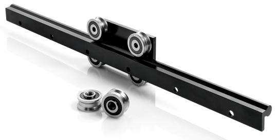 O-Rail - Modular linear guides with rollers