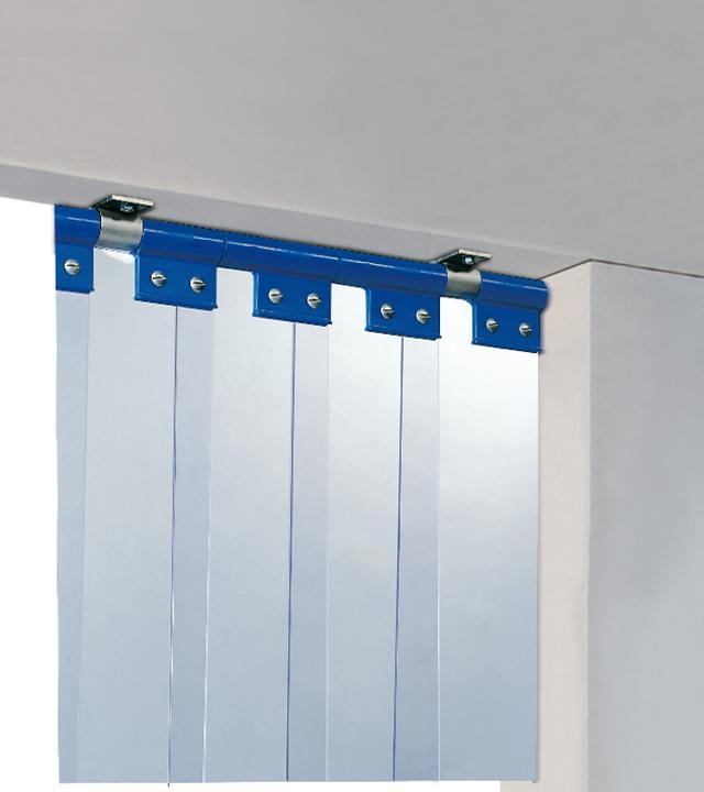 Rideau à lanières et porte à lanières L22 - Portes industrielles en PVC souple