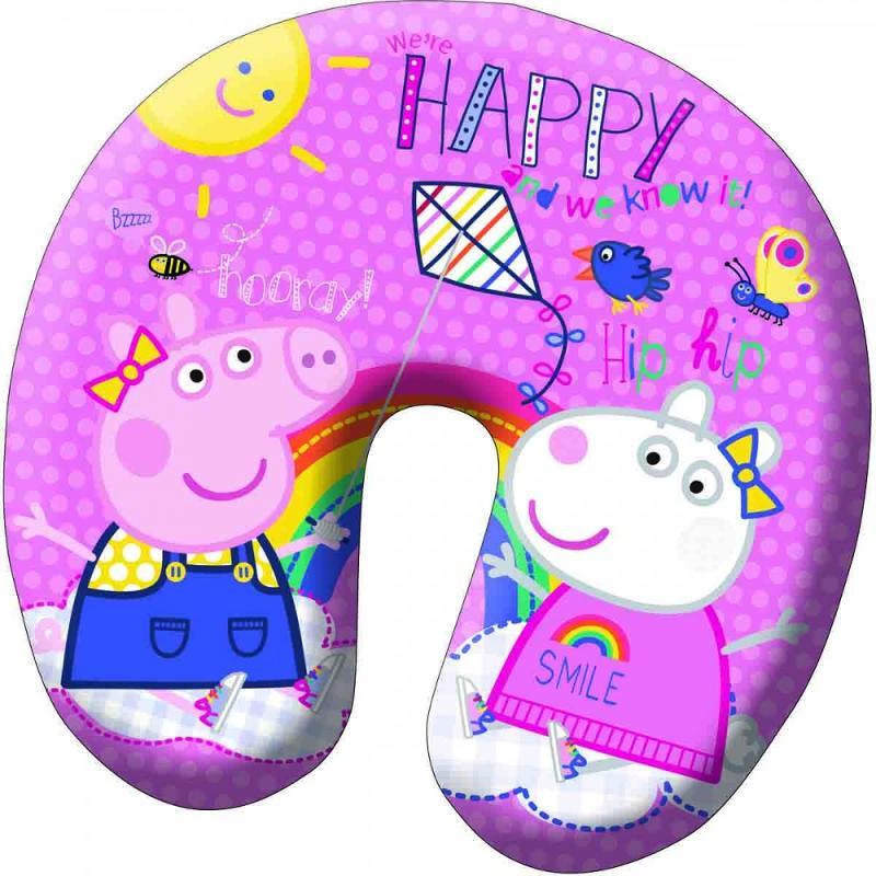 5x Bouées tour de cou gonflable Peppa Pig - Jouet et Loisirs