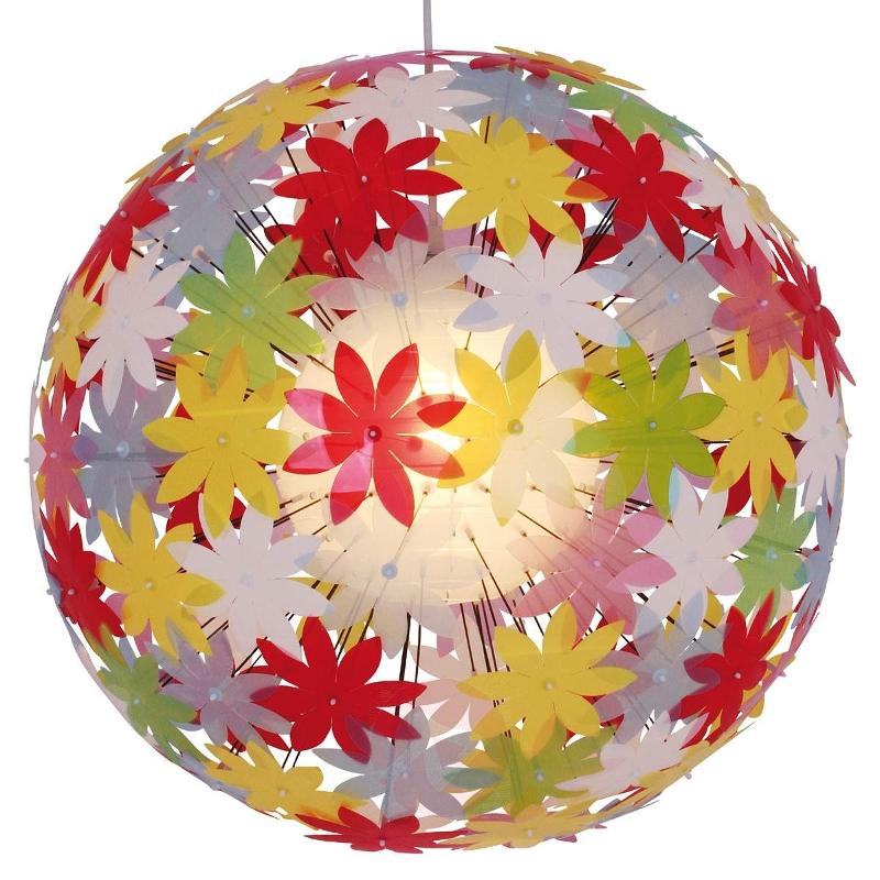Spherical hanging light YOUNG LIVING, colourful - Pendant Lighting