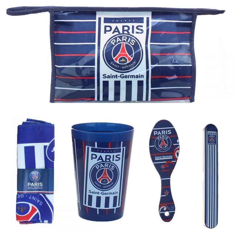 6x Trousses de toilette 4 pieces Paris Saint Germain