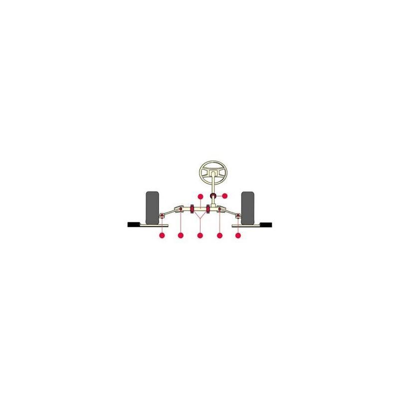 Détecteur de jeu Escon - Service roue