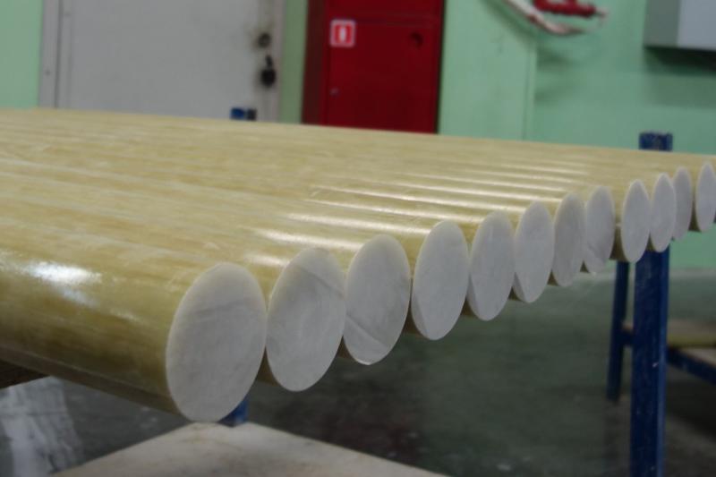 PULGLASS unidirectional cylindrical fiberglass rods - composite materials