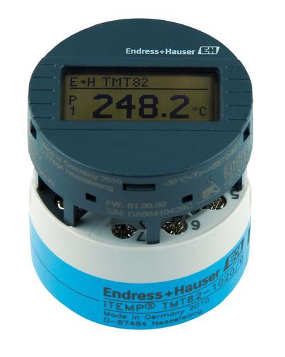Transmetteur de température iTEMP TMT82 HART® 7 - Température