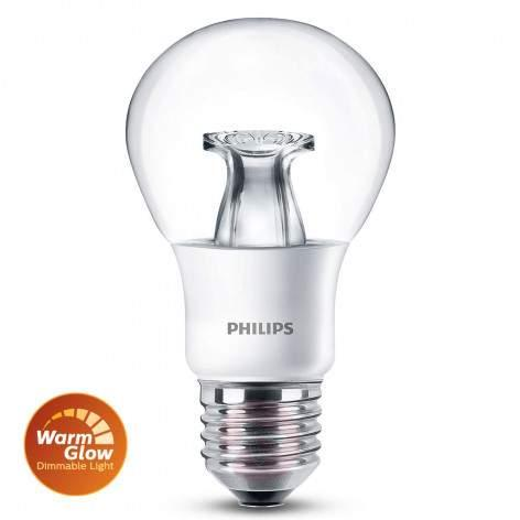 E14 4 W 827 LED flame tip candle bulb, warm-glow - light-bulbs