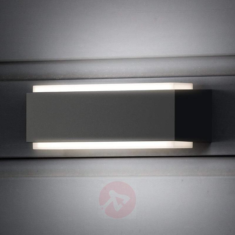 Cool white LED outdoor wall light Stratosphere - Outdoor Wall Lights