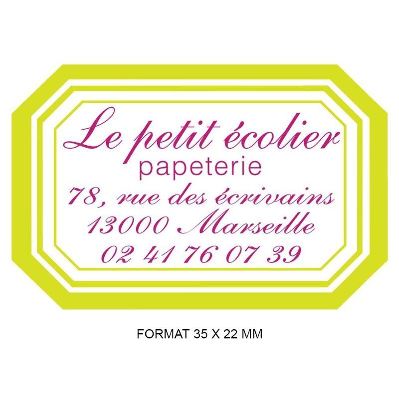 Étiquettes mini couleurs - Etiquette autocollante pour boutique