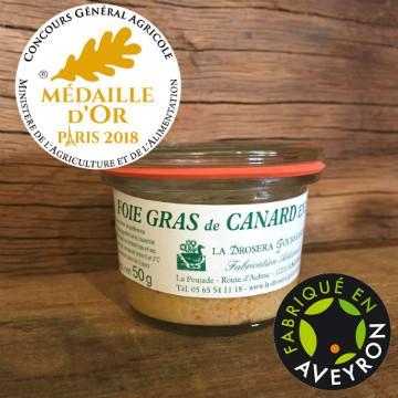 Foie Gras de Canard Entier en conserve - Origine FRANCE sans conservateur sans alcool sans arôme ajouté