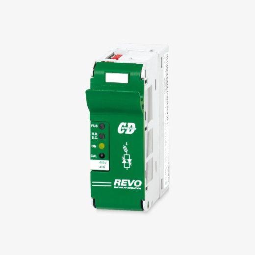 REVO SSR Solid State Relais 30A..40A mit Kühlkörper - null