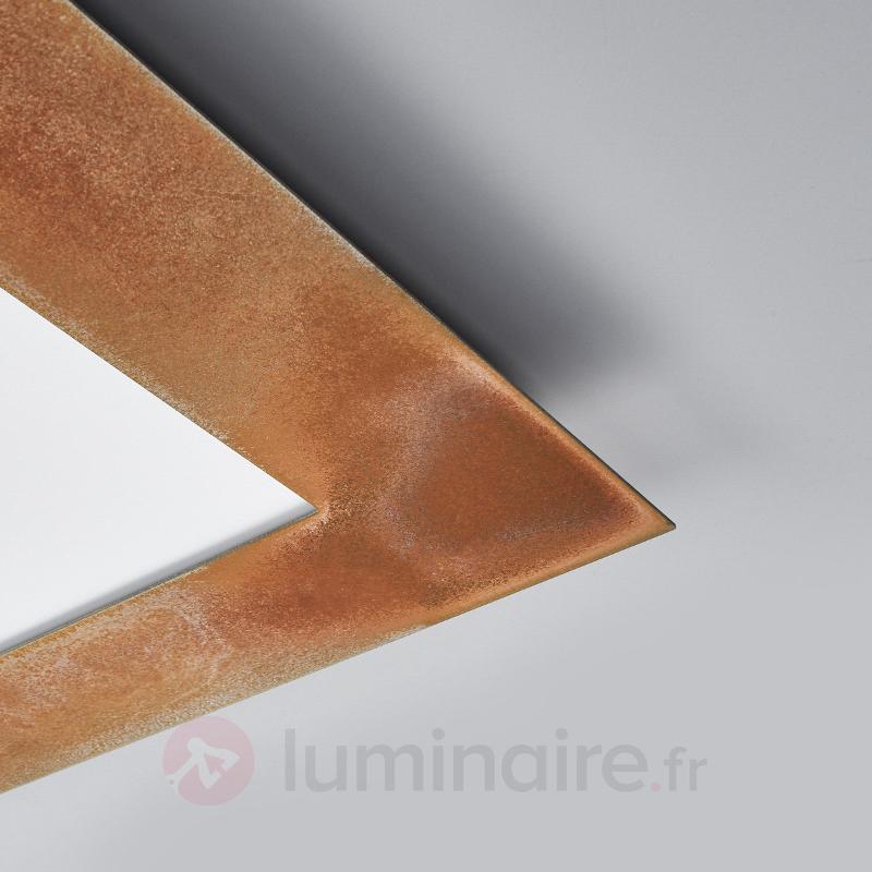 Panneau Deno rouille LED aussi pour faux plafond - Plafonniers LED