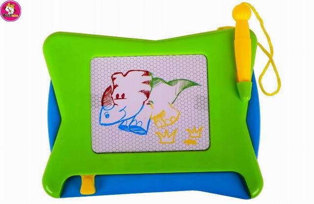 Children educational large color magnetic drawing board toy  -  kids magnetic drawing board