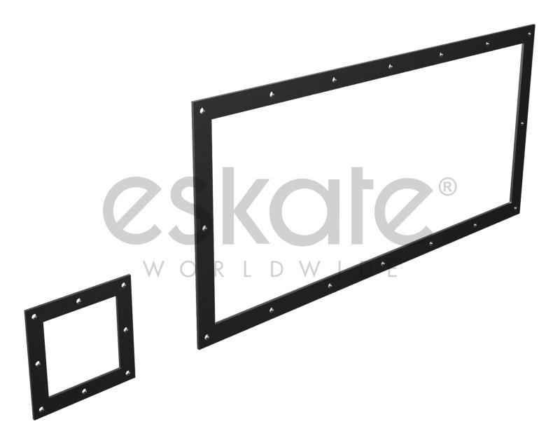 Rectangular and square flanges