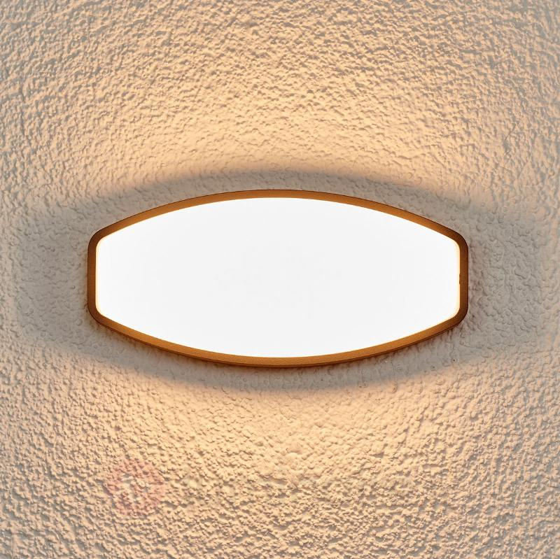 Applique extérieure de forme originale Quenta LED - Appliques d'extérieur LED