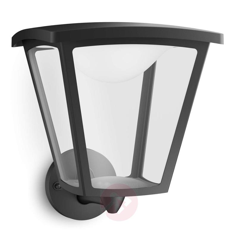 Black LED outdoor wall light Cottage - outdoor-led-lights