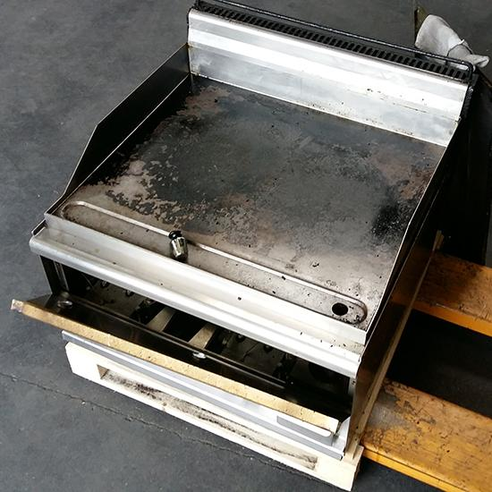 Cooking line 600 Compact - gas griddle, tabletop, smooth plate - brand LOTUS - DEFECT
