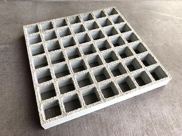 Gfp-grating - Sanded - glassfibre gratings polyester resin or Vinylester-resin for special cases