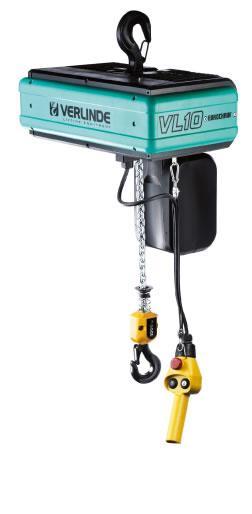 Palan électrique à chaîne compact - pour charge de 60 à 10 000 kg