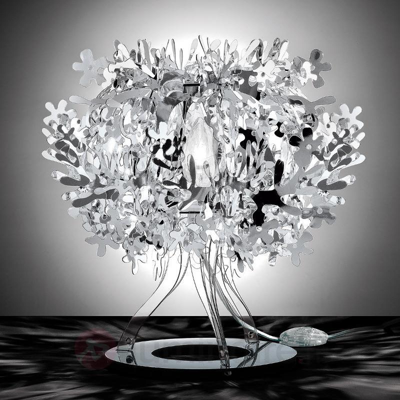 Lampe à poser de designer Fiorellina, argenté - Lampes à poser designs