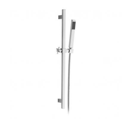 Saliscendi con doccia ottone e flessibile doppia... - saliscendi / ART.4173