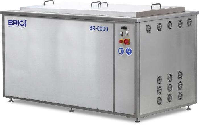 BR-5000  - Máquina de limpieza por ultrasonidos manual de 5000 L