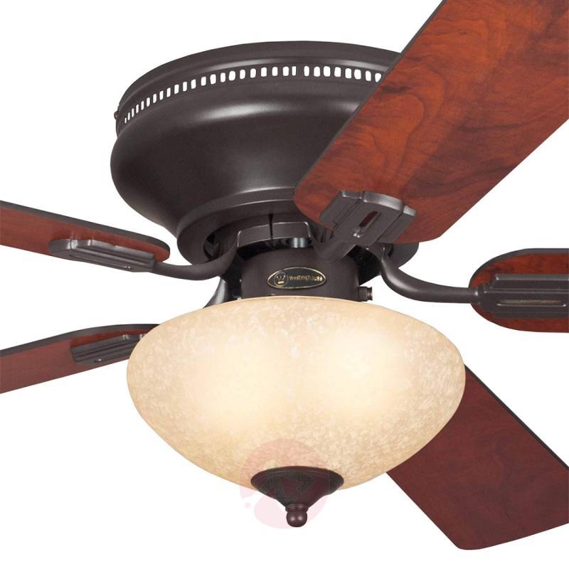 Everett rustic ceiling fan with light - fans
