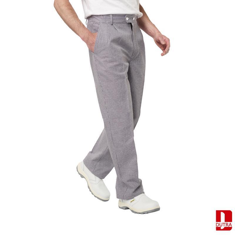 Pantalon de cuisine pied de poule - ERIC