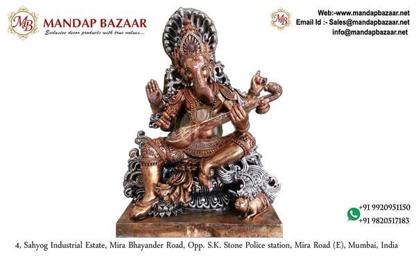 Ganpati Murti - Saraswati Ganeshji