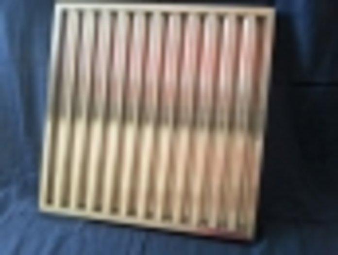 Flammschutzfilter Lamellenfilter 195x195x25B - null