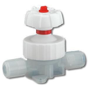 Manually operated diaphragm valve GEMÜ C67 CleanStar - The GEMÜ C67 CleanStar ultra-pure 2/2-way diaphragm valve is manually operated.