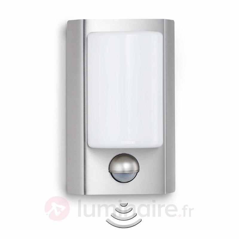 Lampe avec détecteur STEINEL L 867 S Inox - Appliques d'extérieur avec détecteur