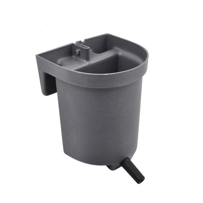 4L animal feeding bucket for cow with teat milk bucket - Plastic Calf Feeding teat Bucket