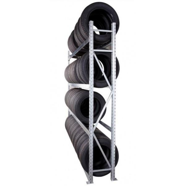 Rayonnage industriel - Rayonnage pour stockage de pneus