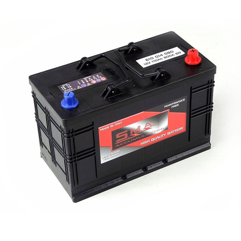 Commercial vehicle batteries Compact B 110ah - Italian factory batteries