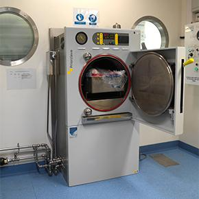 Double Door Autoclaves - 150L Pass-Through Steam Heated