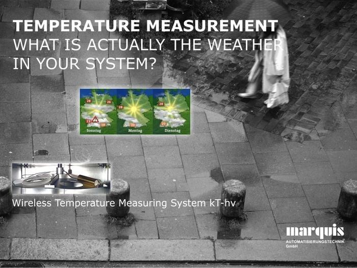 Kabellose Temperaturerfassung für Hochvakuum-Anwendungen (kT-hv) - null