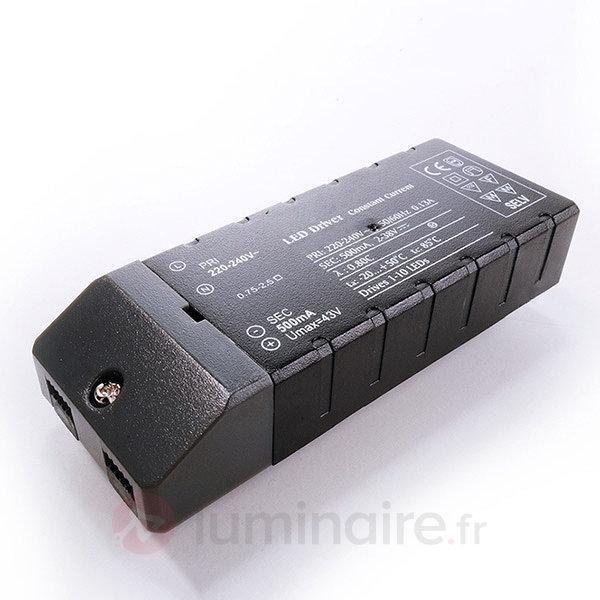 Bloc d'alimentation LED pour Downlight Circle - Transformateurs LED