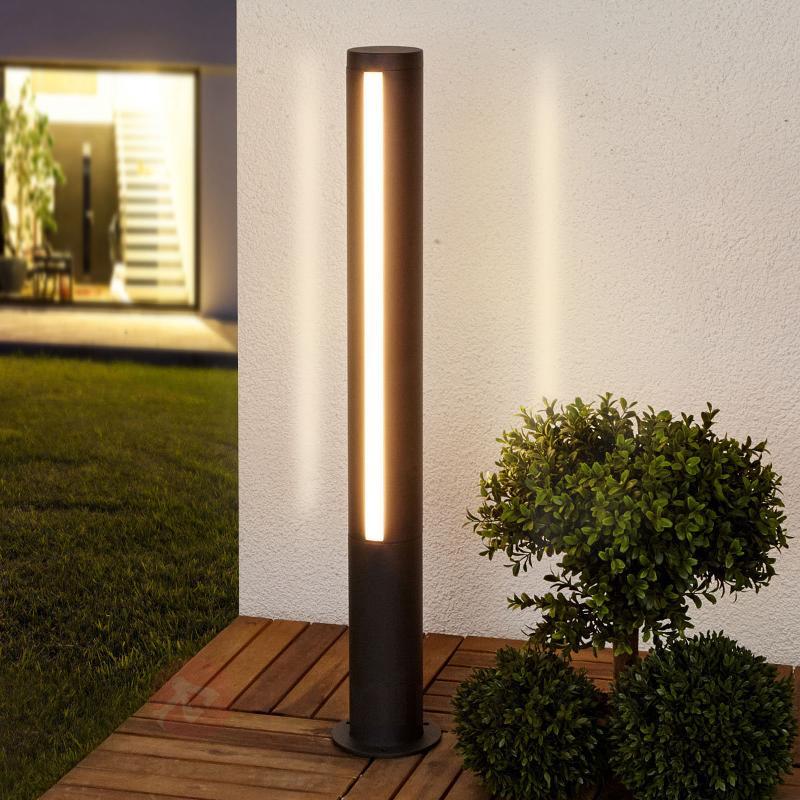 Lampe d'allée LED attrayante Lydi - Bornes lumineuses LED
