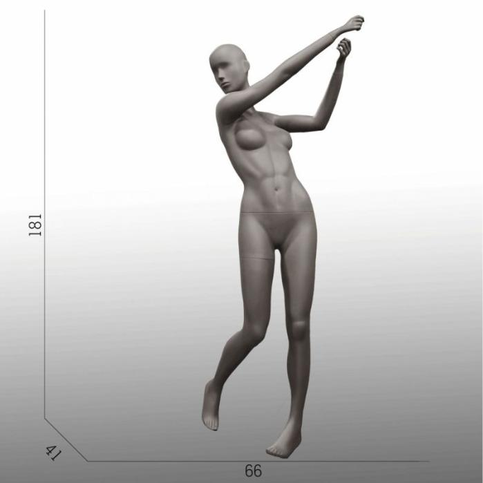Female sport mannequins - Female sport window mannequins
