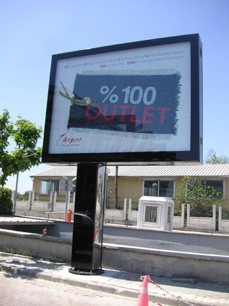 CLP Billboard - Scrolling Billboard Advertising System City Light Poster