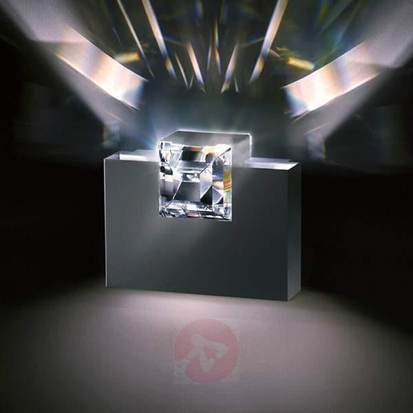 Grey Madison wall light with crystal - Wall Lights