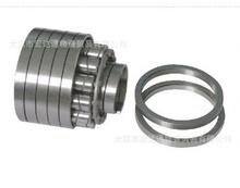 Helical spring bearing