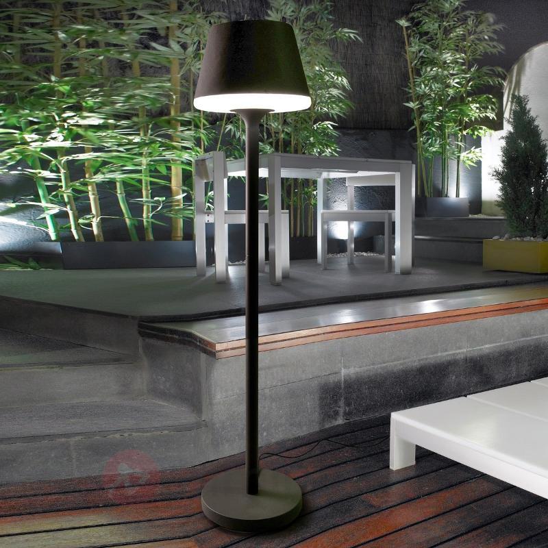 Lampadaire d'extérieur ORLEON - Luminaires de terrasse