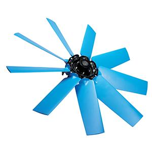TM Variable pitch airfoil profile axial impellers